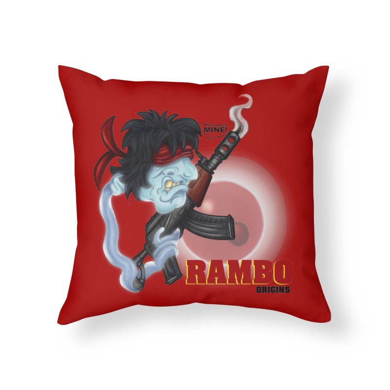 This one is MINE! Home Throw Pillow by The Last Tsunami's Artist Shop