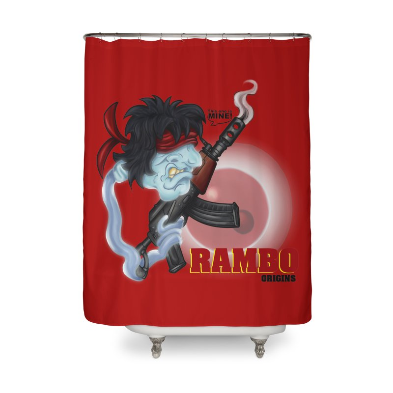 This one is MINE! Home Shower Curtain by The Last Tsunami's Artist Shop