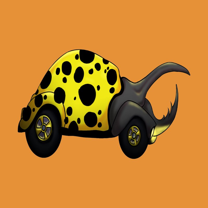 The Yellow Beetle Bug by The Last Tsunami's Artist Shop