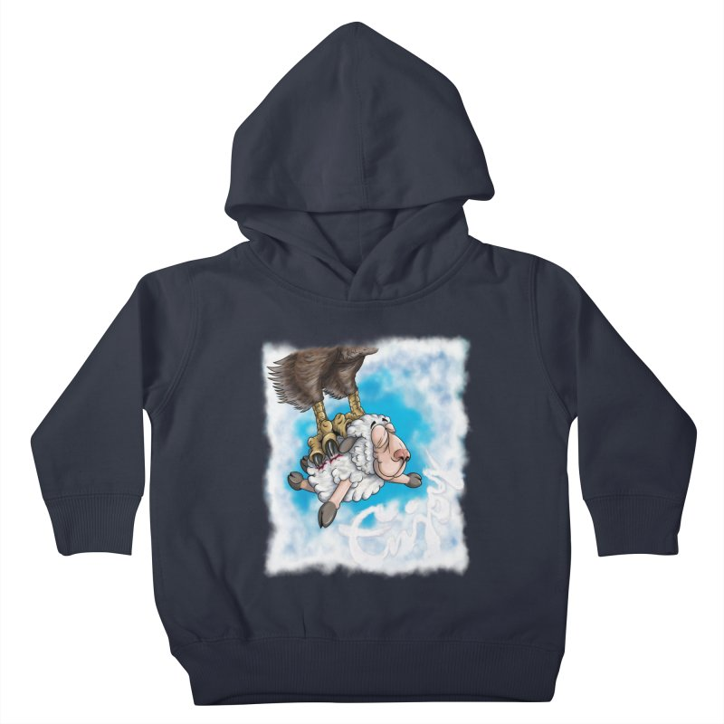Enjoy till it lasts Kids Toddler Pullover Hoody by The Last Tsunami's Artist Shop