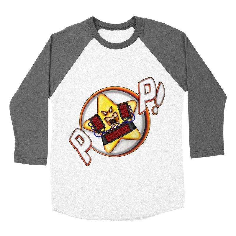 Pop Star! Men's Baseball Triblend T-Shirt by The Last Tsunami's Artist Shop