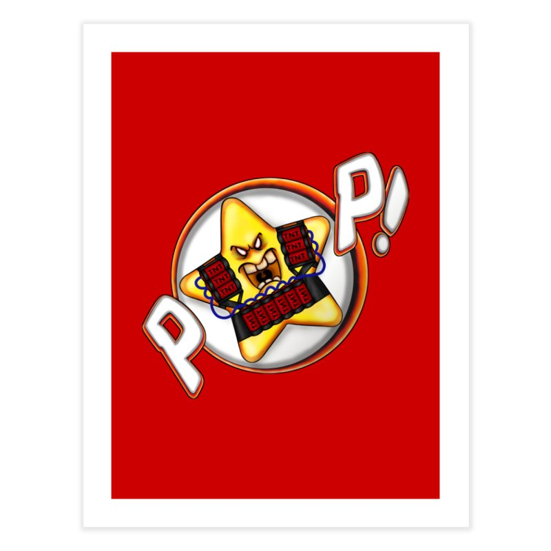 Pop Star! Home Fine Art Print by The Last Tsunami's Artist Shop