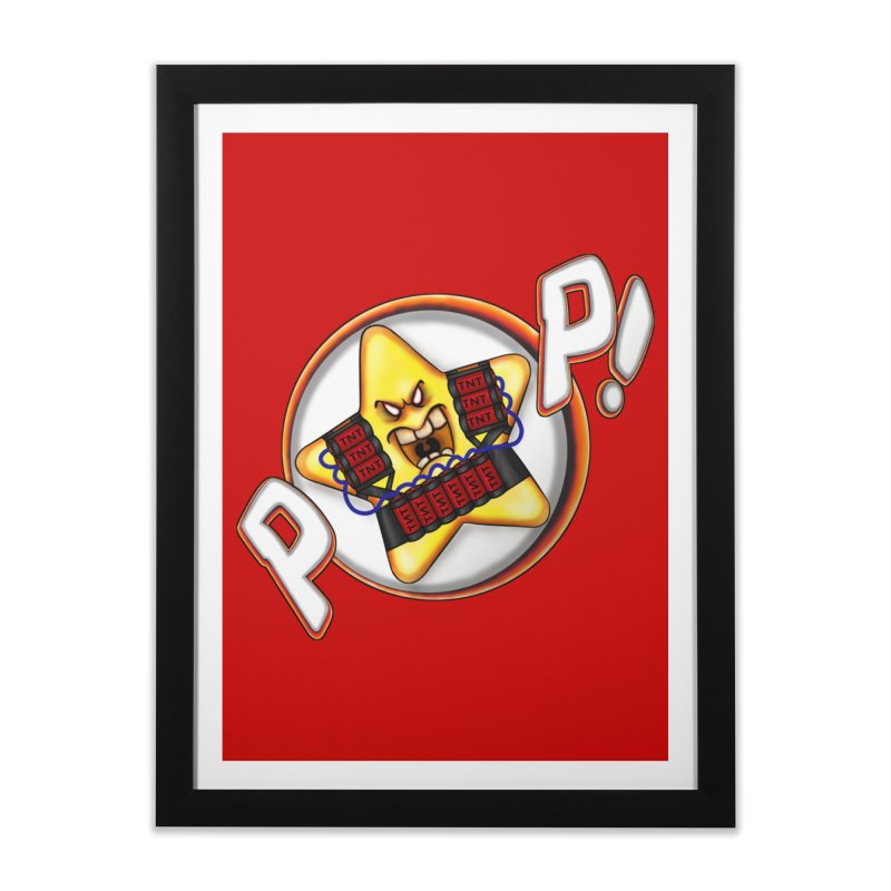 Pop Star! Home Framed Fine Art Print by The Last Tsunami's Artist Shop