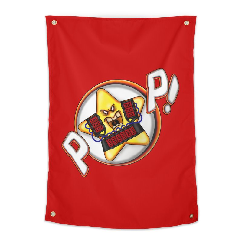 Pop Star! Home Tapestry by The Last Tsunami's Artist Shop