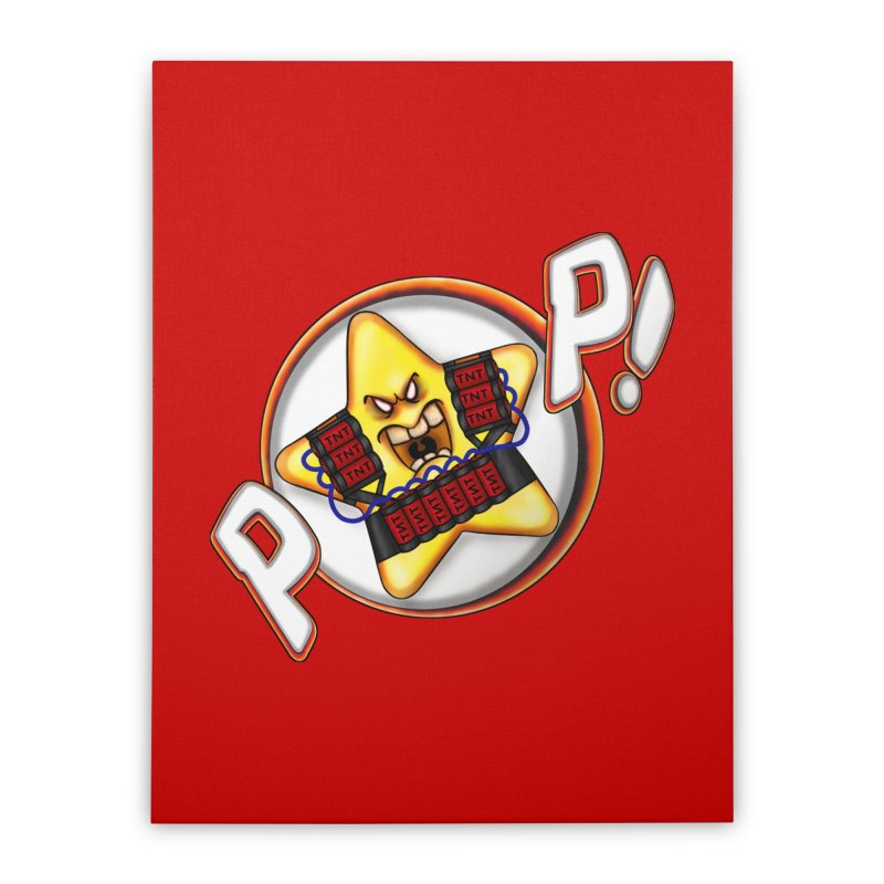 Pop Star! Home Stretched Canvas by The Last Tsunami's Artist Shop