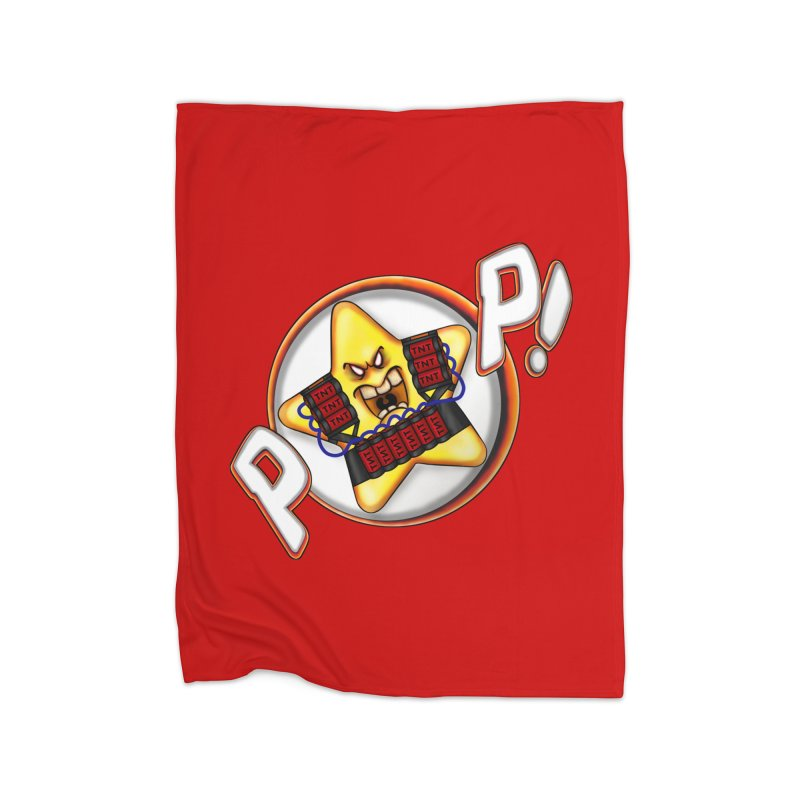 Pop Star! Home Blanket by The Last Tsunami's Artist Shop