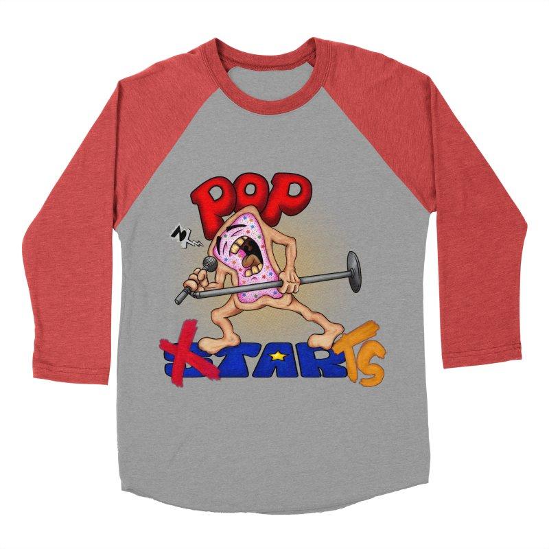 Pop Tarts Men's Baseball Triblend T-Shirt by The Last Tsunami's Artist Shop