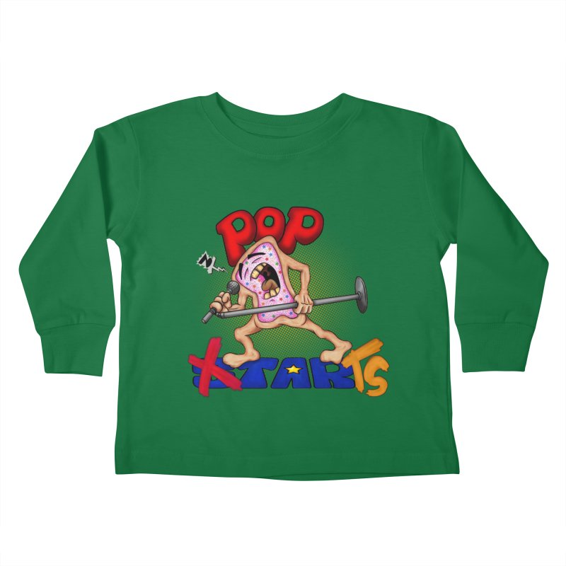 Pop Tarts Kids Toddler Longsleeve T-Shirt by The Last Tsunami's Artist Shop