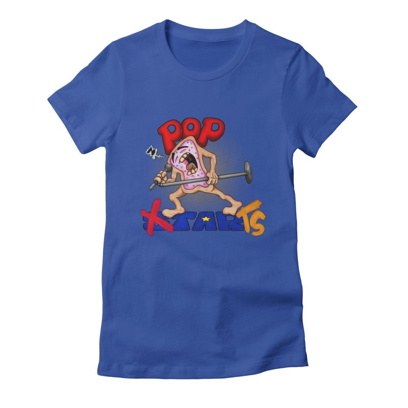 Pop Tarts Women's Fitted T-Shirt by The Last Tsunami's Artist Shop