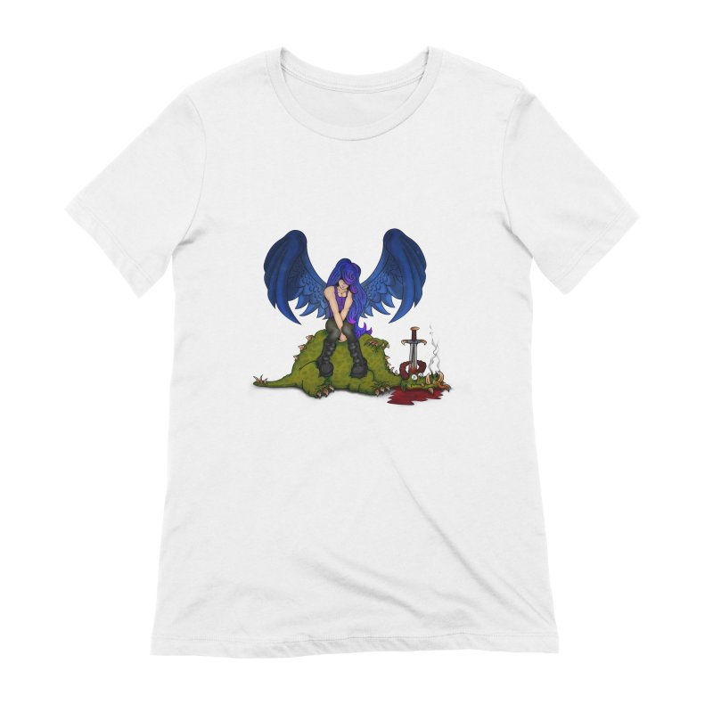 Daddy´s Little Angel Women's Extra Soft T-Shirt by The Last Tsunami's Artist Shop
