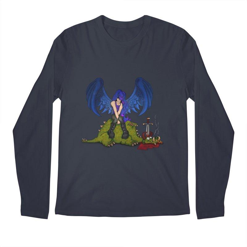Daddy´s Little Angel Men's Longsleeve T-Shirt by The Last Tsunami's Artist Shop