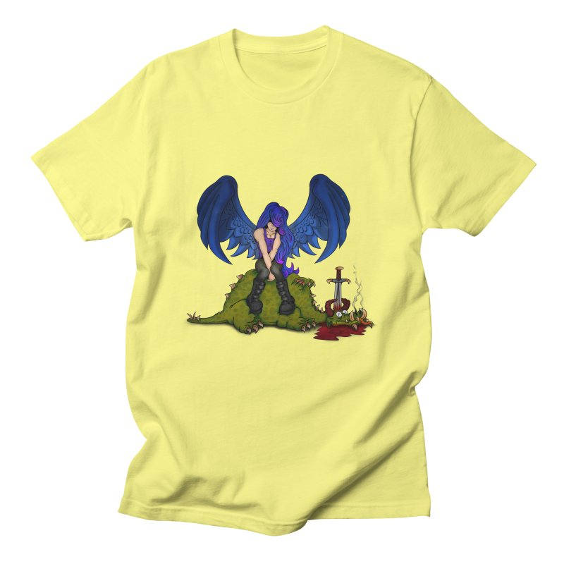 Daddy´s Little Angel Men's T-shirt by The Last Tsunami's Artist Shop