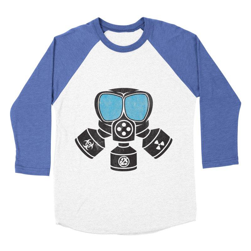 Bio-hazardous People Men's Baseball Triblend T-Shirt by The Last Tsunami's Artist Shop