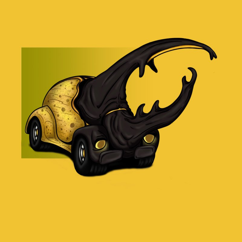 The Yellow Beetle Bug 2 by The Last Tsunami's Artist Shop