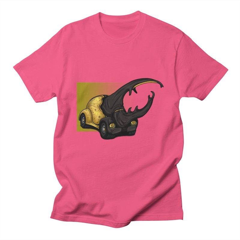The Yellow Beetle Bug 2 Men's T-shirt by The Last Tsunami's Artist Shop