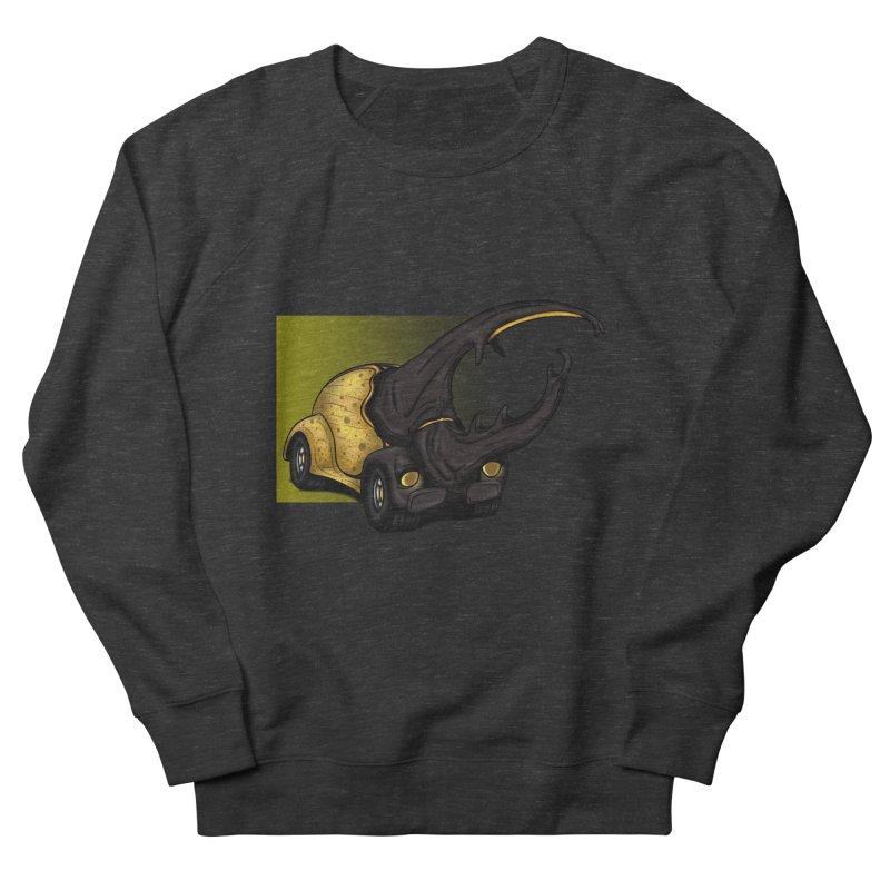 The Yellow Beetle Bug 2 Women's Sweatshirt by The Last Tsunami's Artist Shop