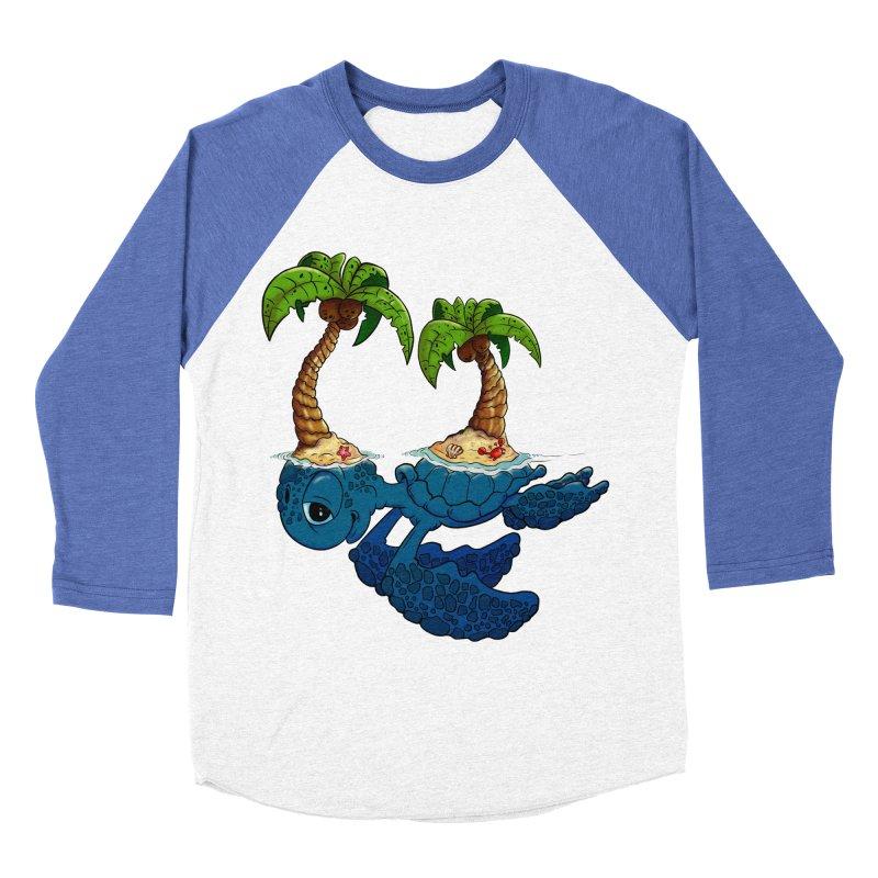 Relaxing RV 2 Men's Baseball Triblend T-Shirt by The Last Tsunami's Artist Shop