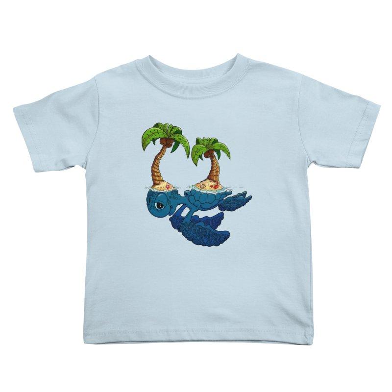 Relaxing RV 2 Kids Toddler T-Shirt by The Last Tsunami's Artist Shop