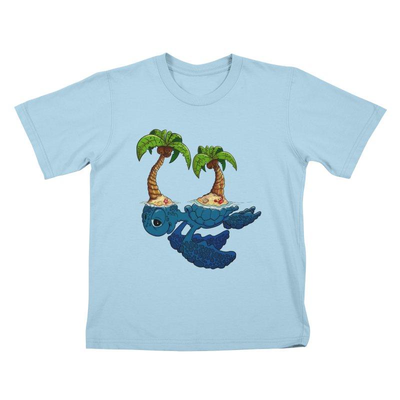 Relaxing RV 2 Kids T-shirt by The Last Tsunami's Artist Shop