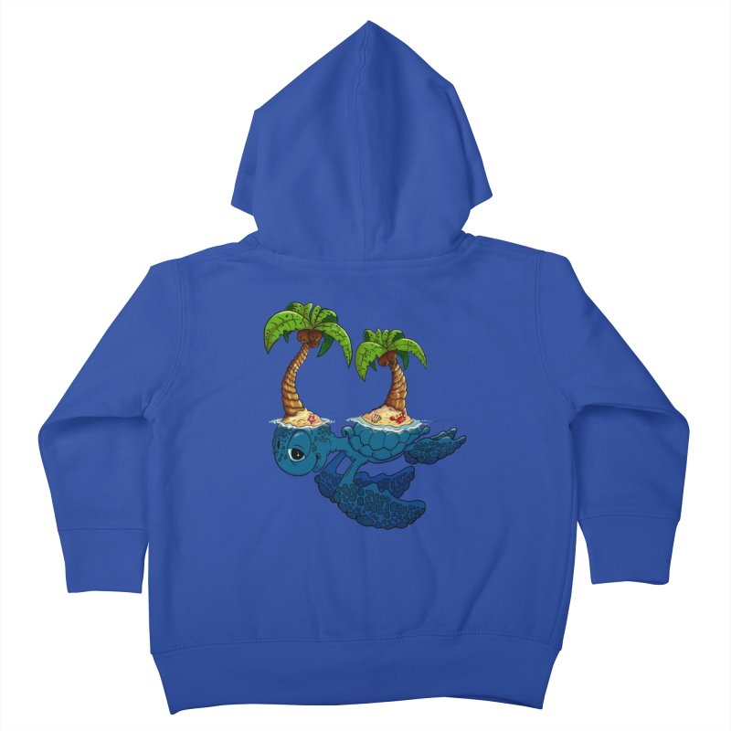Relaxing RV 2 Kids Toddler Zip-Up Hoody by The Last Tsunami's Artist Shop