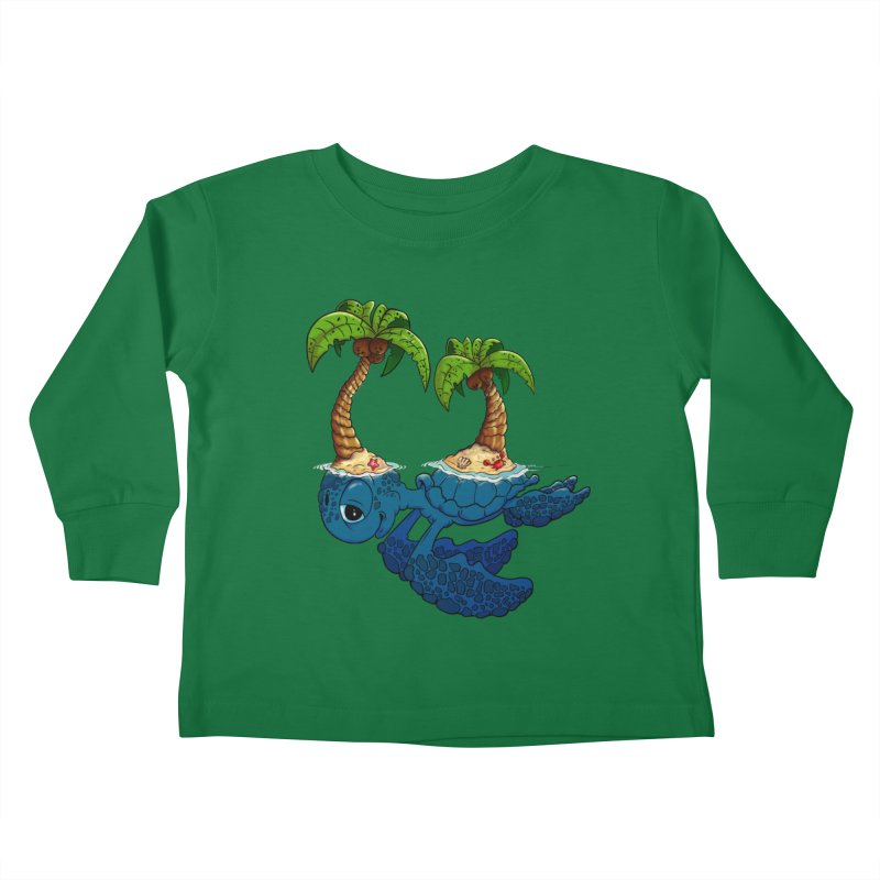 Relaxing RV 2 Kids Toddler Longsleeve T-Shirt by The Last Tsunami's Artist Shop
