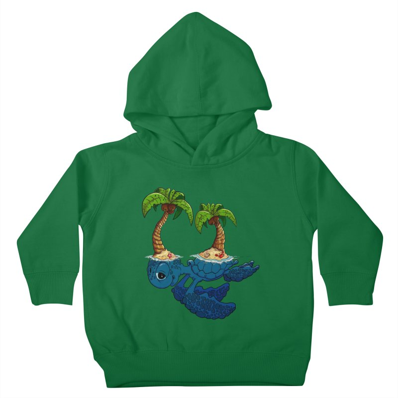 Relaxing RV 2 Kids Toddler Pullover Hoody by The Last Tsunami's Artist Shop