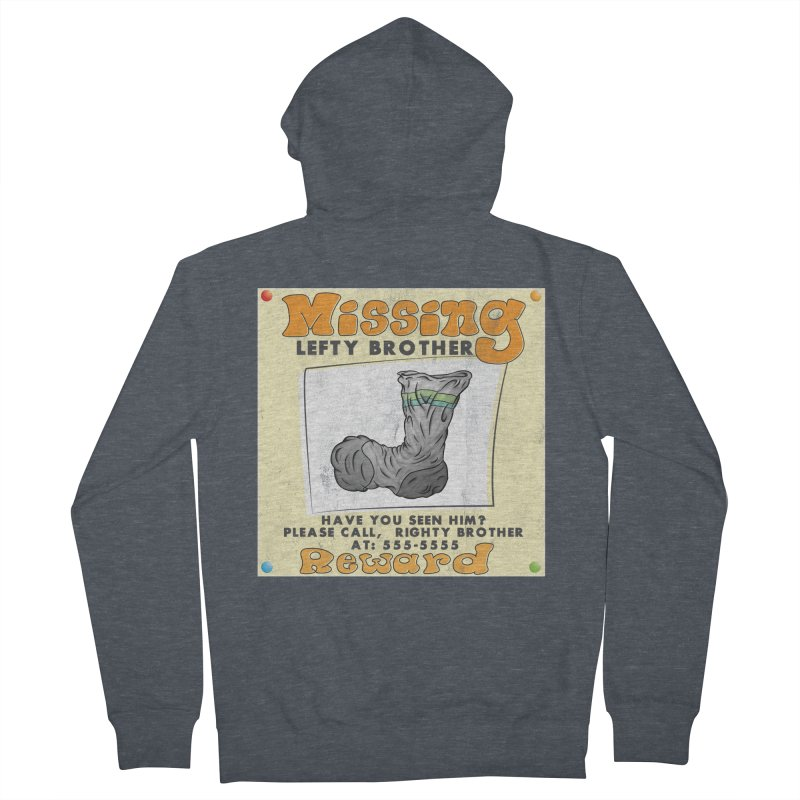 Missing Brother Men's Zip-Up Hoody by The Last Tsunami's Artist Shop
