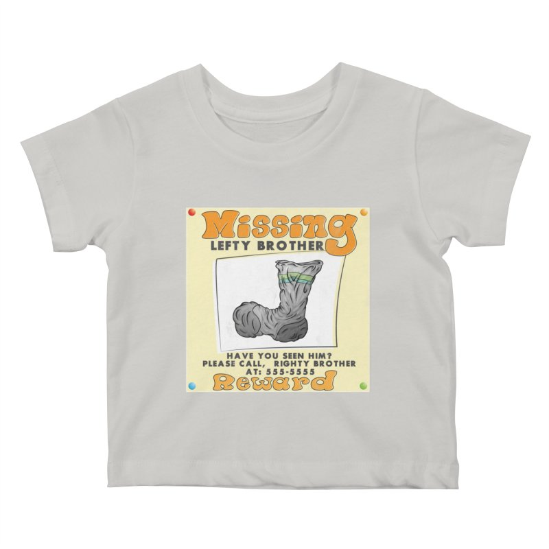 Missing Brother Kids Baby T-Shirt by The Last Tsunami's Artist Shop