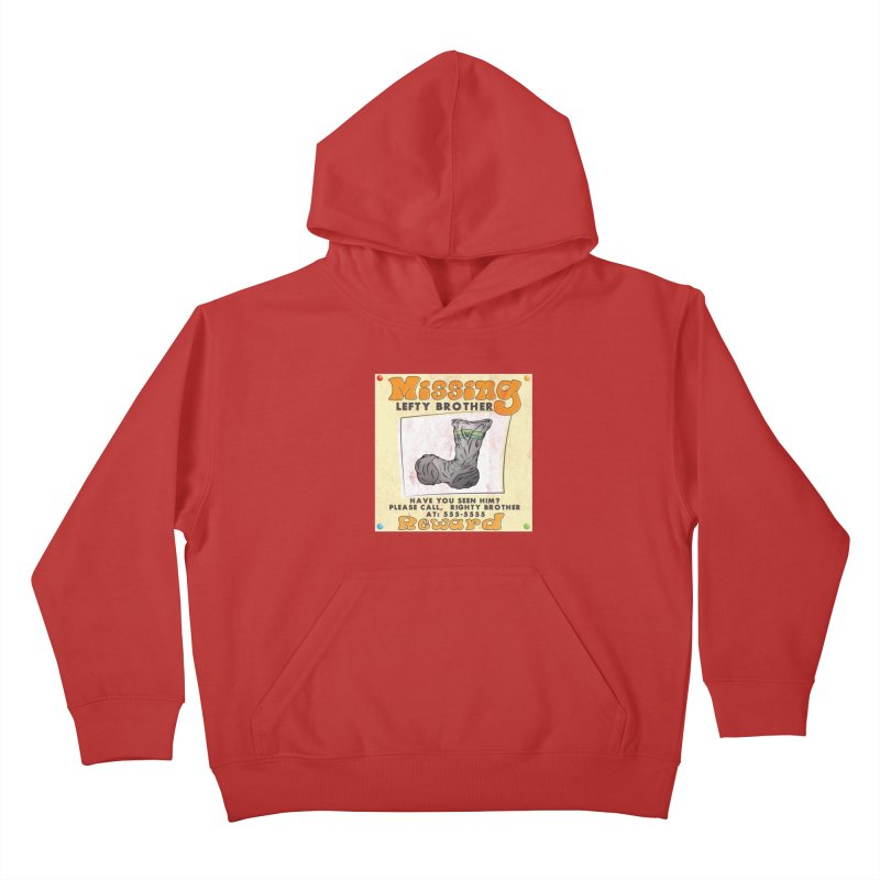 Missing Brother Kids Pullover Hoody by The Last Tsunami's Artist Shop