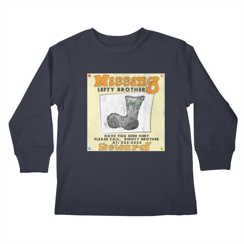 Missing Brother Kids Longsleeve T-Shirt by The Last Tsunami's Artist Shop