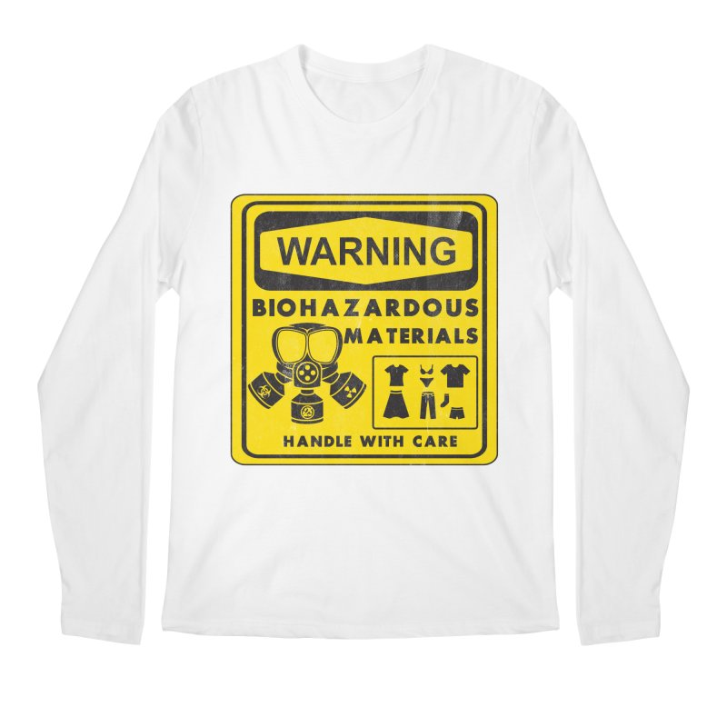 Biohazardous Materials Men's Longsleeve T-Shirt by The Last Tsunami's Artist Shop