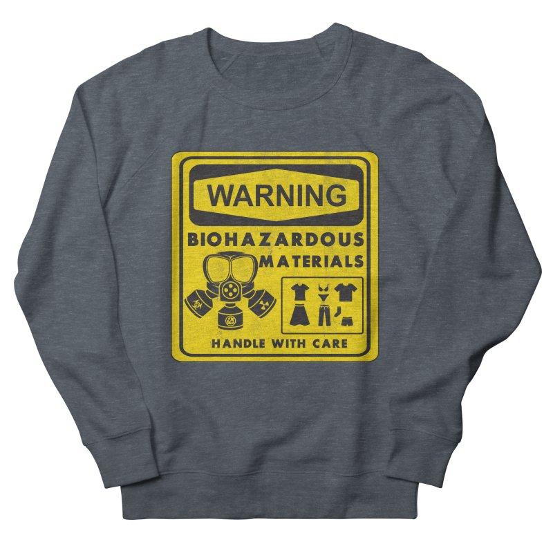 Biohazardous Materials Women's Sweatshirt by The Last Tsunami's Artist Shop