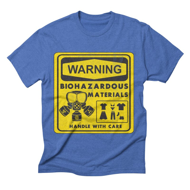 Biohazardous Materials Men's Triblend T-shirt by The Last Tsunami's Artist Shop