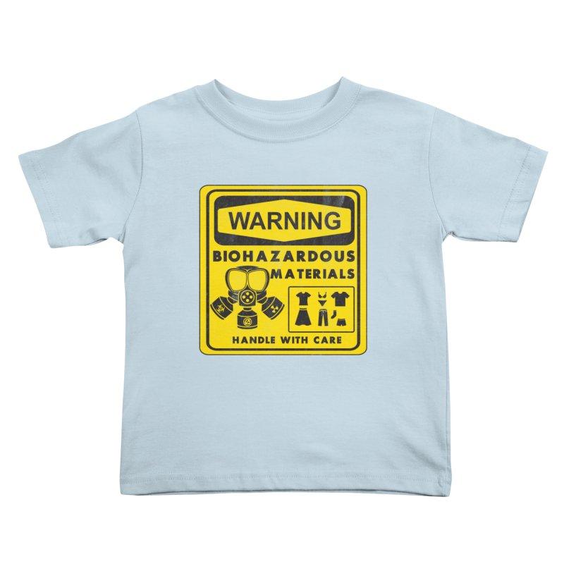 Biohazardous Materials Kids Toddler T-Shirt by The Last Tsunami's Artist Shop