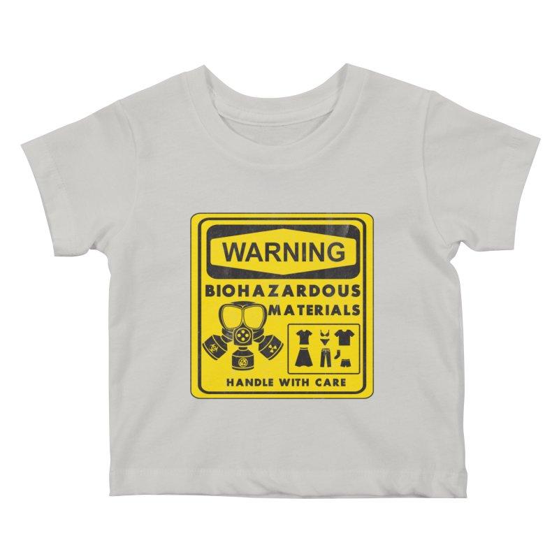 Biohazardous Materials Kids Baby T-Shirt by The Last Tsunami's Artist Shop