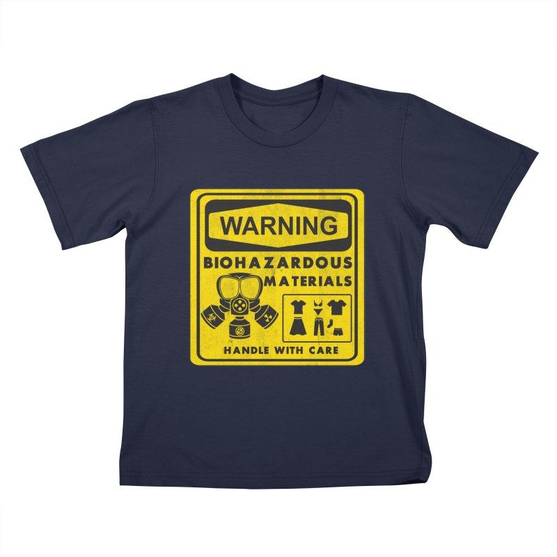 Biohazardous Materials Kids T-shirt by The Last Tsunami's Artist Shop