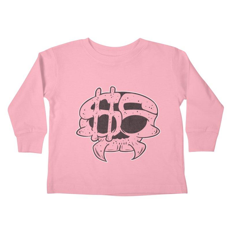 Hater´s Love 2 Kids Toddler Longsleeve T-Shirt by The Last Tsunami's Artist Shop
