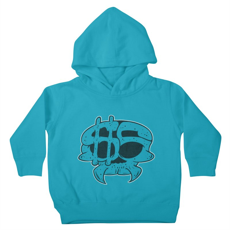 Hater´s Love 2 Kids Toddler Pullover Hoody by The Last Tsunami's Artist Shop