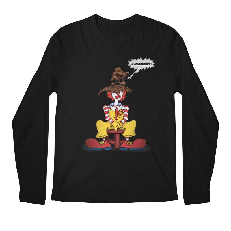 Burgerduff! Men's Longsleeve T-Shirt by The Last Tsunami's Artist Shop