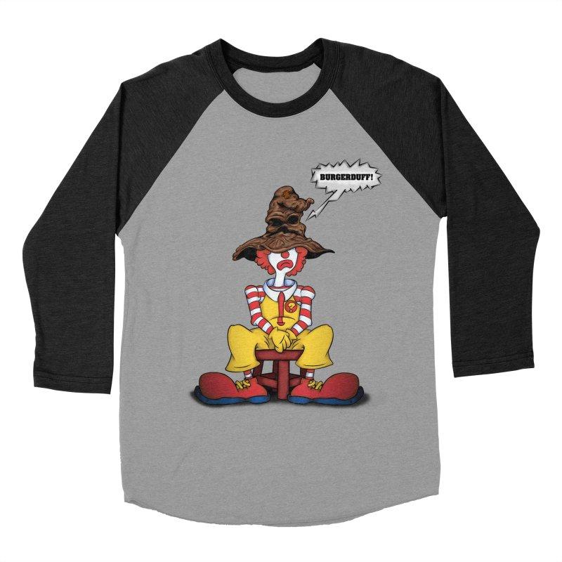 Burgerduff! Men's Baseball Triblend T-Shirt by The Last Tsunami's Artist Shop