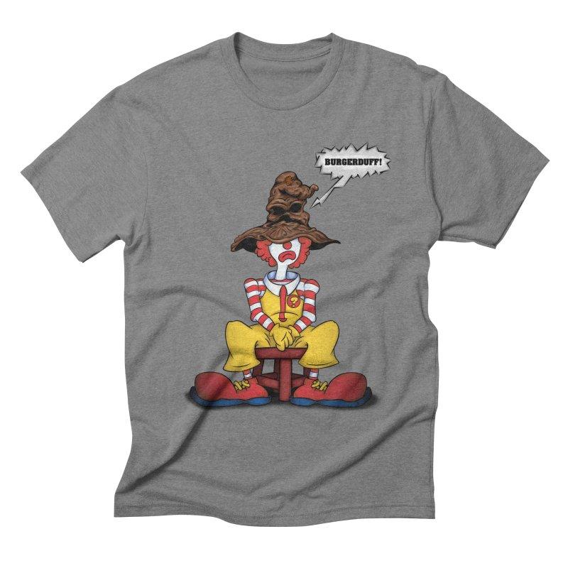 Burgerduff! Men's Triblend T-shirt by The Last Tsunami's Artist Shop