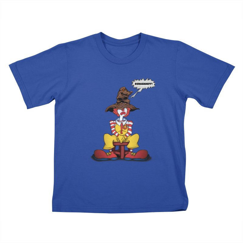 Burgerduff! Kids T-shirt by The Last Tsunami's Artist Shop