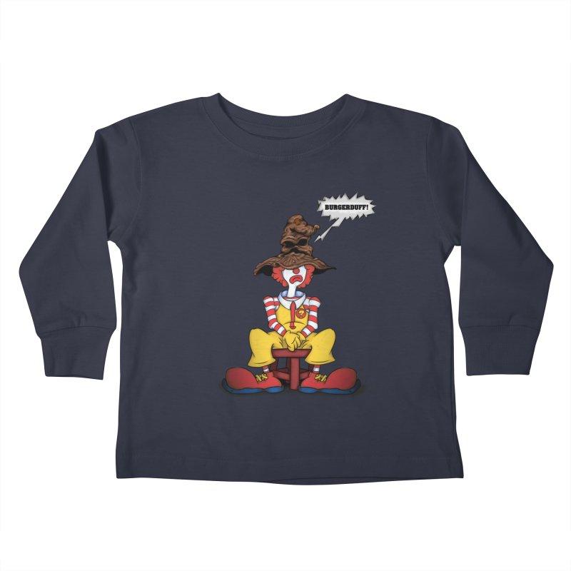 Burgerduff! Kids Toddler Longsleeve T-Shirt by The Last Tsunami's Artist Shop