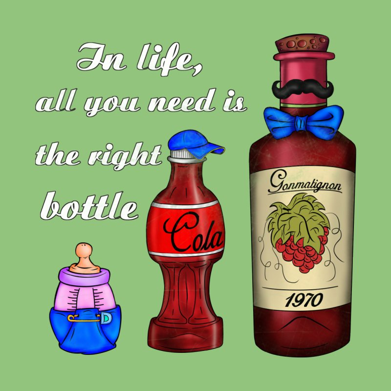Bottle of Life by The Last Tsunami's Artist Shop
