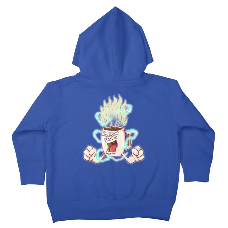 Strongest Coffee in the Universe Kids Toddler Zip-Up Hoody by The Last Tsunami's Artist Shop