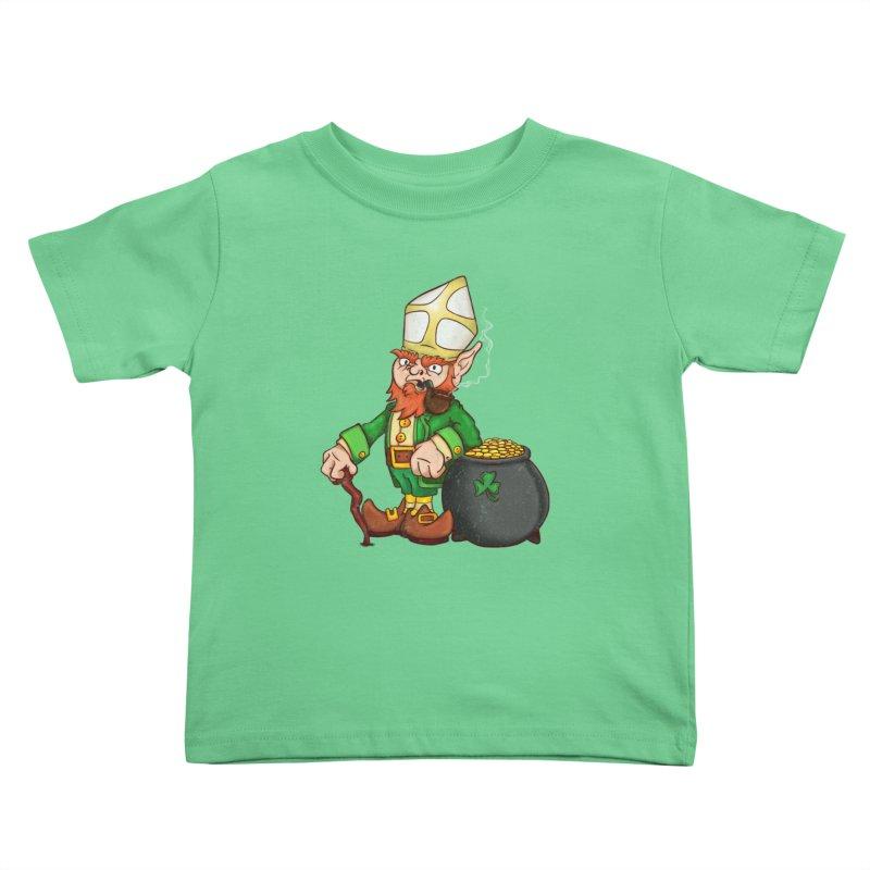 Lepopechaun Kids Toddler T-Shirt by The Last Tsunami's Artist Shop