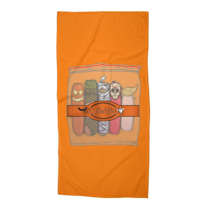 Halloweeners Accessories Beach Towel by The Last Tsunami's Artist Shop