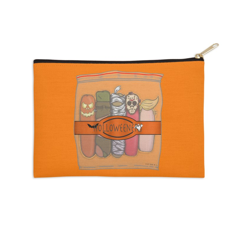 Halloweeners Accessories Zip Pouch by The Last Tsunami's Artist Shop