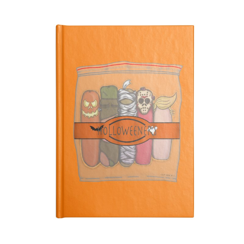 Halloweeners Accessories Blank Journal Notebook by The Last Tsunami's Artist Shop