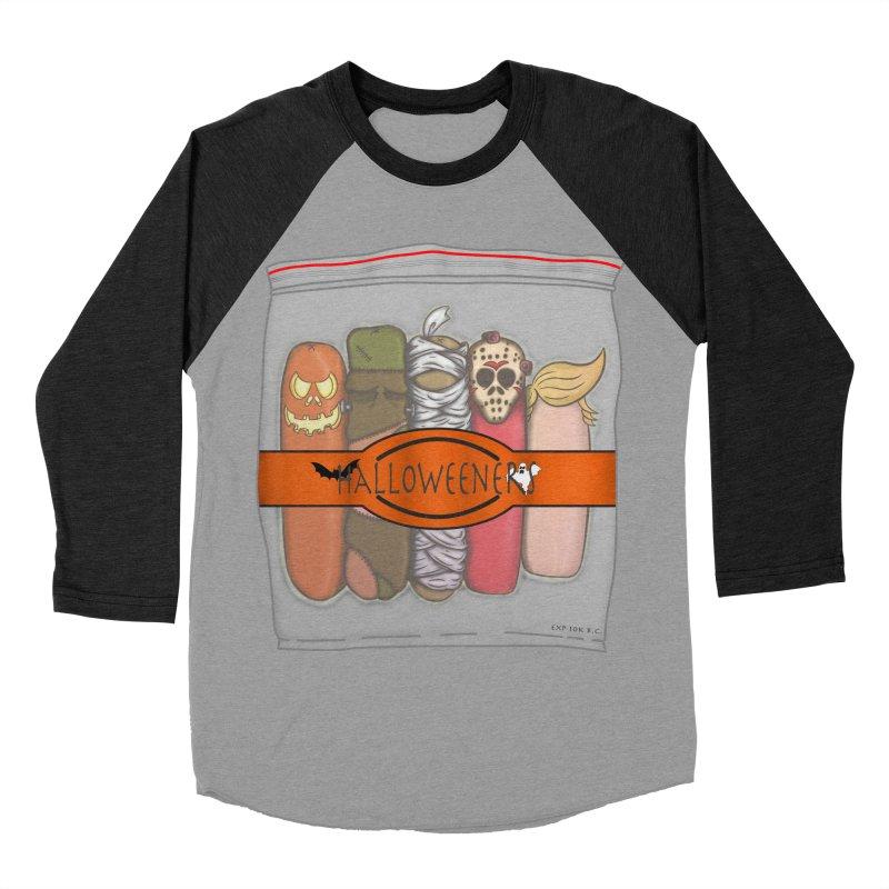 Halloweeners Women's Baseball Triblend T-Shirt by The Last Tsunami's Artist Shop